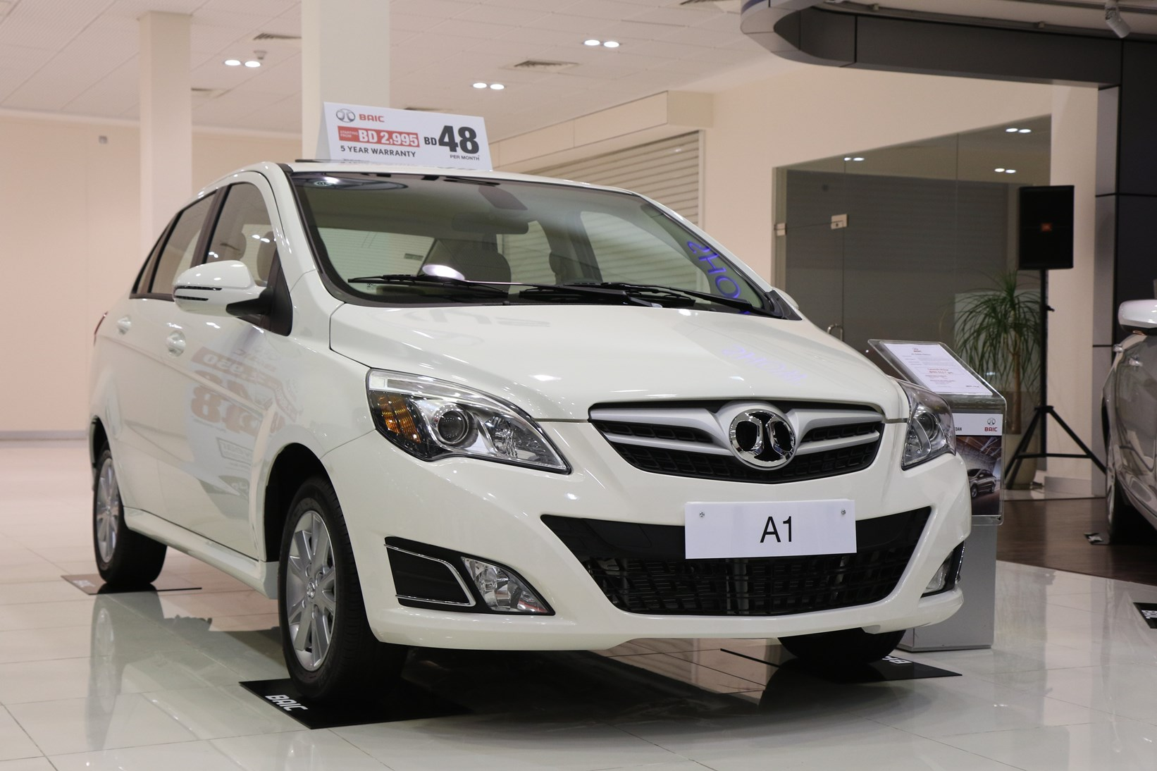 Motorcity launches a new brand in Bahrain  BAIC A1 Sedan and