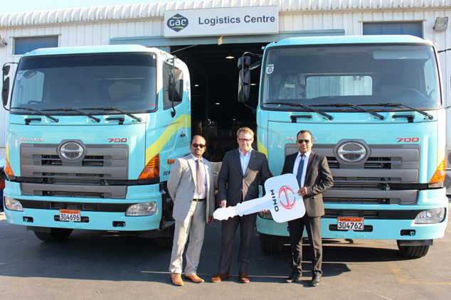 Motorcity Delivers Hino Automatic Transmission To Gulf Agency